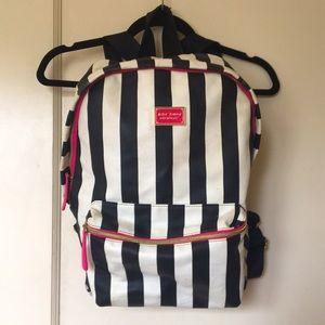 Betsey Johnson Full Size Striped Backpack